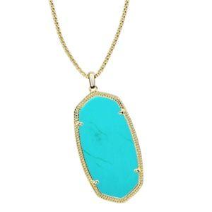 Kendra Scott Reid Necklace in Turquoise Magnesite